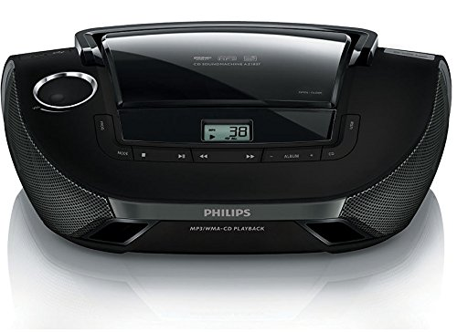 Philips Az1837 55 Cd Player Boombox Sound Machine Am Fm