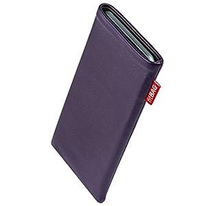 fitBAG Beat Lila Handytasche Tasche aus Echtleder Nappa mit Microfaserinnenfutter für Sony Xperia Z1 (neues Modell ab Oktober 2013)