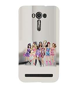 99Sublimation Gang Of Girls 3D Hard Polycarbonate Back Case Cover for Asus Zenfone 2 Laser ZE500KL