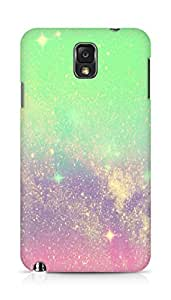 Amez designer printed 3d premium high quality back case cover for Samsung Galaxy Note 3 (sparkle )