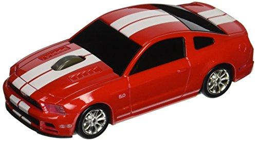 ford-mustang-gt-wireless-auto-mouse-rosso-bianco-senza-fili-ottico