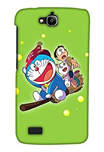 Print Haat Back Case Cover for Honor Holly (Multicolor)