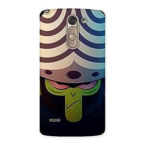Delighted Green Black Mojo Back Case Cover for LG G3 Stylus