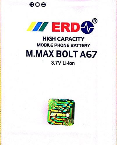 ERD 1250mAh Battery (For Micromax Bolt A67)
