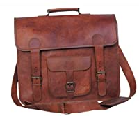 Passion Leather 16 Inch Classic Laptop Messenger Bag