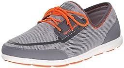 Helly Hansen Men\'s Trysail Boat Shoe, New Light Grey/Mid Grey, 10.5 M US