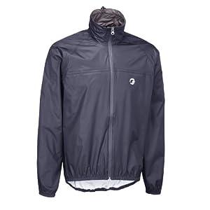 Tenn-Outdoors Men's Lightweight Compact Waterproof Cycling Jacket - Navy, Medium/40-42 Inch