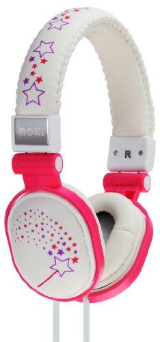Moki Acchppod Sparkles Soft Cushion Headphones, White