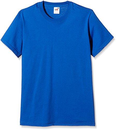 fruit-of-the-loom-ss003m-t-shirt-femme-bleu-royal-x-large