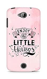 AMEZ enjoy the little things 2 Back Cover For Acer Liquid Z530