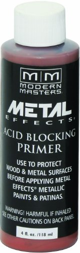 Modern Masters AM203-04 Acid Blocking Primer White, 4-Ounce