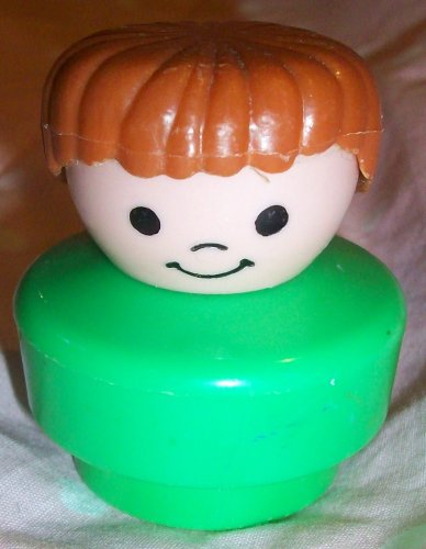Buy Low Price Mattel Fisher Price Little People Vintage Boy Replacement Figure Doll Toy (B0025JFE9Q)