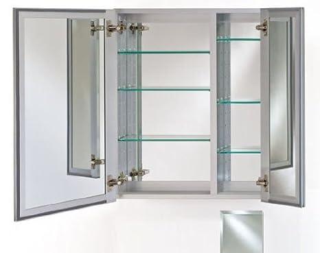 Broadway Double Door Medicine Cabinet (25 in. W x 19 in. H)