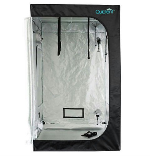 "48""X48""X78"" Reflective Mylar Hydroponics Grow Tent Dark Room Box Hut"