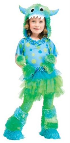 Costumes For All Occasions FW114961TL Monster Miss Toddler 3T-4T