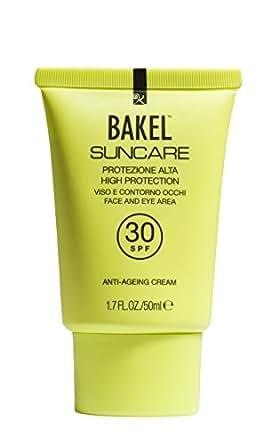 BAKEL Suncare Face and Eye Area Sun Protection, High SPF30 50 ml