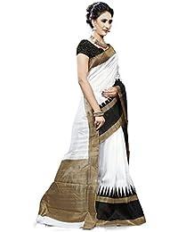 Alka Fashion Women's Art Silk Bhagalpuri Saree With Blouse Piece