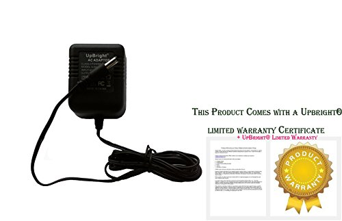 Best Price UpBright® New 9V AC-AC Adapter For Alesis SR16 HR16 DM5 P3 M-EQ MEQ-230 A30910C Drum Mac...