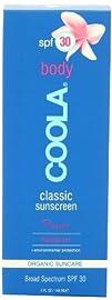 Coola Classic Body SPF 30 Sunscreen Plumeria 5 Ounce
