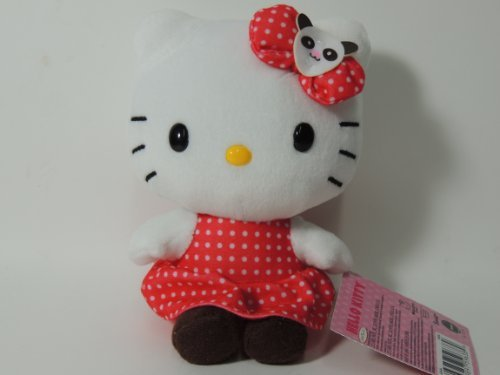 Red Plush Hello Kitty by Sanrio - 1