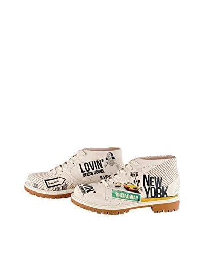 Dogo Shoes Scarpa Stringata Lovin' Ny [Beige]