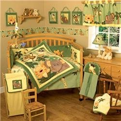 Jungle Crib Bedding 1506 front