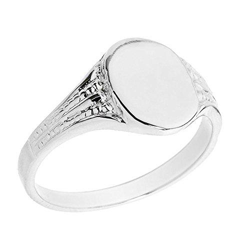 little-treasures-10k-solid-white-gold-oval-engravable-mens-signet-ring