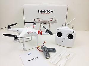 DJI Phantom Quadcopter for GoPro Newest Version V1.2 with extra battery + upgraded carbon fiber blades