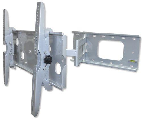 LCD Wandhalterung DMP PLB 109 – Größe B 32-60″ (81, 3-152, 4cm), max 78kg, neigbar, schwenkbar – silber