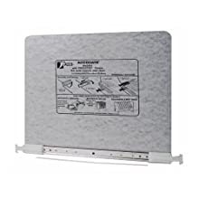 ACCO PRESSTEX Data Binder with Storage Hooks, For 11 x 16 Inch, 11 x 15-1/2 Inch and 11 x 17-3/4 Inch Burst Sheets, Light Gray (A7054144A)