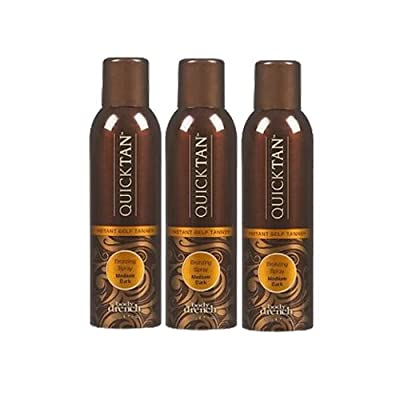 BODY DRENCH Quick Tan Instant Spray 6 oz (Pack of 3) by Body Drench
