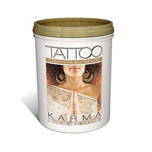 JCOLORS Vip Tattoo Karma Lt.3 Oro Decorativo Sabbiato Metallizzato Perlescente