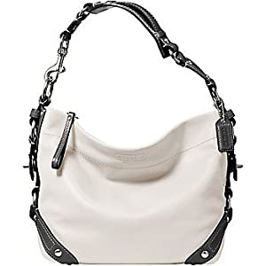 Coach 15251 Carly Shoulder White Grey
