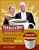 Newmans Own Organics, Newmans Own Special Blend Decaf, K-Cup Portion Pack for Keurig K-Cup Brewers