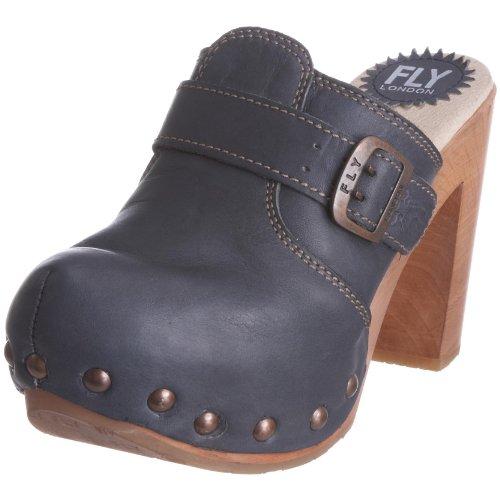 Fly London Women's Suse Indigo Mule Heel P141801002 6 UK