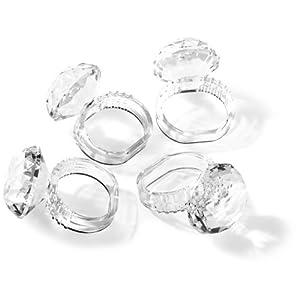 Jubilee Acrylic Diamond Napkin Rings