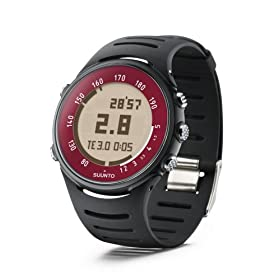 Suunto t4c Heart Rate Monitor and Fitness Trainer Watch (Black Volcano)