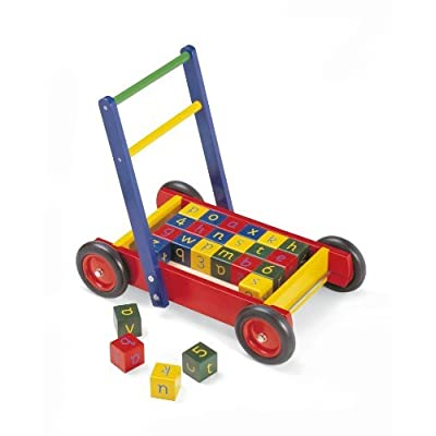 Pintoy Baby Walker with Bricks