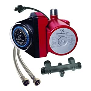 Grundfos 595916 1/25 Horsepower Comfort Series Recirculator Pump