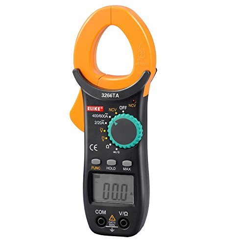 ELIKE-3266TA-600A-Auto-Ranging-Digital-Clamp-On-Meter-Multimeter-with-NCVACDC-VoltageResistorDiodeContinuity