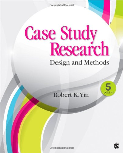 robert yin case study research design and methods