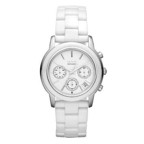 DKNY Ladies Ceramic Chronograph Watch NY8313