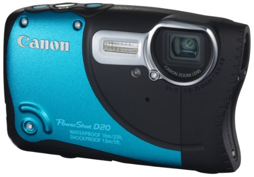 Canon デジタルカメラ PowerShot D20 光学5倍ズーム タフ防水 PSD20