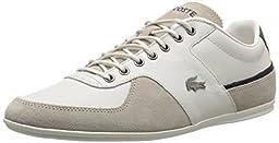 Lacoste Men\'s Taloire 15 LCR Fashion Sneaker, Off White, 10.5 M US