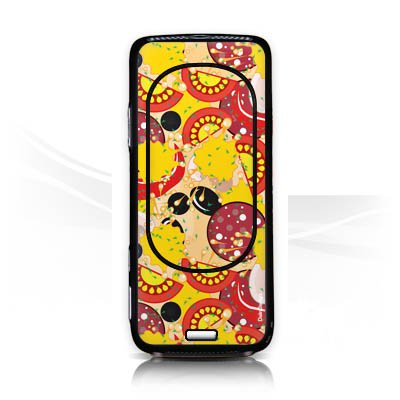 nokia-n-73-autocollant-protection-film-design-sticker-skin-calzone-pizza-fast-food
