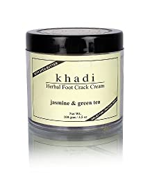 Khadi Jasmine and Green Tea Herbal Foot Crack Cream, 50gm