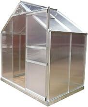 Giardino Gewächshaus, Transparent, 190x201x132 cm
