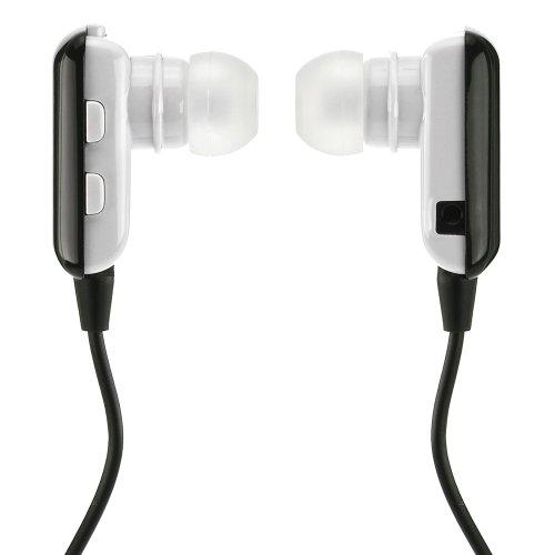 deleyCON Bluetooth In Ear Headset Kopfhörer Ohrhörer - [Schwarz] - Stereo - für Handy, PC, Tablet, iPhone, Smartphone, Apple Mac