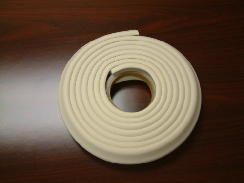 Kids Edge Cushion Padding 1X1 In.Ivory 100 Ft. W/Tape front-766195