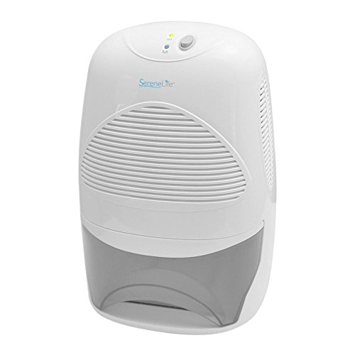 SereneLife - Electric Dehumidifier 68 Oz - For Rooms up to 2200 Cubic Feet (PDUMID55)